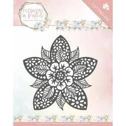 (PM10135)Dies - Precious Marieke - Flowers in Pastels - Reverse Flower
