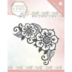 (PM10136)Dies - Precious Marieke - Flowers in Pastels - Floral Corner