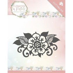 (PM10137)Dies - Precious Marieke - Flowers in Pastels - Single Flower