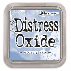 (TDO56256)Tim Holtz distress oxide stormy sky