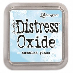 (TDO56287)Tim Holtz distress oxide tumbled glass