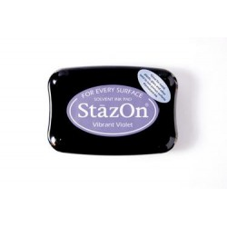 Stamp ink StazOn vibrant violet