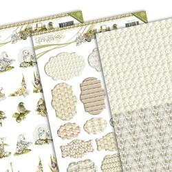 (PMMIN10003)3D Precious Marieke - Springtime - Mini`s & Labels