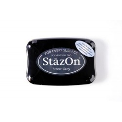 Stamp ink StazOn stone grey