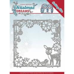 (YCD10140)Dies - Yvonne Creations - Christmas Dreams - Christmas Animal Frame