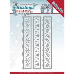 (YCD10141)Dies - Yvonne Creations - Christmas Dreams - Christmas Borders