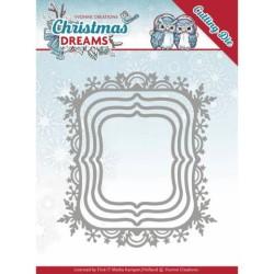 (YCD10142)Dies - Yvonne Creations - Christmas Dreams - Christmas Borders
