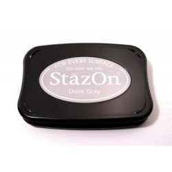 Stamp ink StazOn dove gray