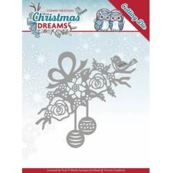 (YCD10146)Dies - Yvonne Creations - Christmas Dreams - Bauble Ornament
