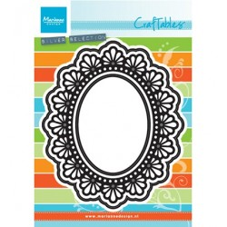 (CR1446)Craftables stencil Twine oval