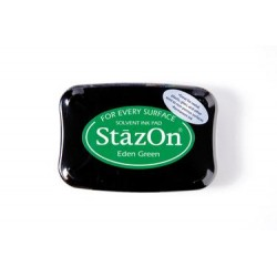 Stamp ink StazOn eden green