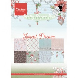 (PK9158)Pretty Papers bloc A5 Forest Dream