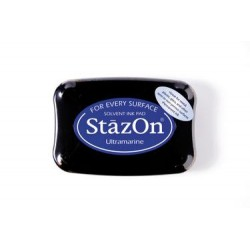 Stamp ink StazOn ultramarine