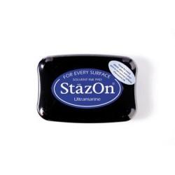 Stamp ink StazOn ultramarine