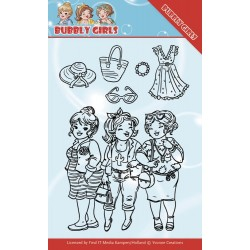 (YCCS10045)Clear Stamps - Yvonne Creations - Bubbly Girls - Girlfriends