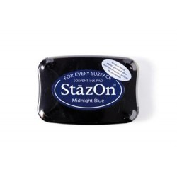 Stamp ink StazOn midnight blue