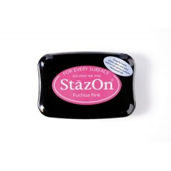 Stamp ink StazOn fuchsia pink