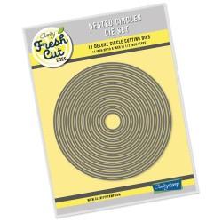(ACC-DI-30667-66)Clarity FRESH CUT DIE NESTED CIRCLES SET