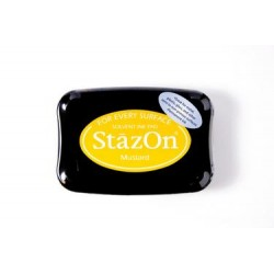 Stamp ink StazOn mustard