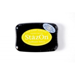Stamp ink StazOn sunflower yellow