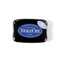 Stamp ink StazOn azure