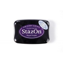 Stamp ink StazOn royal purple