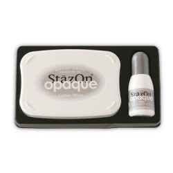 Stamp ink StazOn opaque white