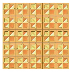 (HS3DF001)3D Embossing Folder Background Squares