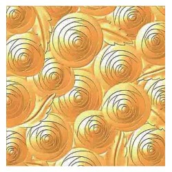 (HS3DF003)3D Embossing Folder Background Circles