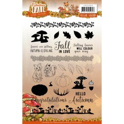 (YCCS10041)Clear Stamps - Yvonne Creations - Fabulous Fall