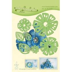 (45.5336)LeCrea'Multi Die Cutting/Emb.Fantasy Flower 014