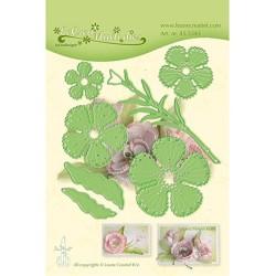 (45.5343)LeCrea'Multi Die Cutting/Emb.Fantasy Flower 015