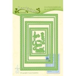 (45.5367)Lea'bilitie Cutting/Emb Postage stamp frames