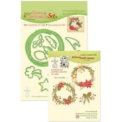 (45.5398)Lea'bilitie / Combi Stamp Christmas wreath