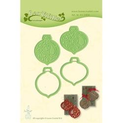 (45.5404)Lea'bilitie Cutting/Emb Christmas ornaments