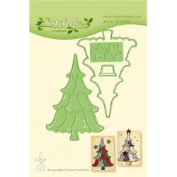 (45.5428)Lea'bilitie Cutting/Emb Patch die Christmas tree