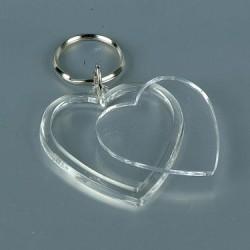 Plastic pendant heart