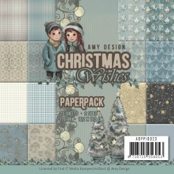 (ADPP10023)Paperpack - Amy Design - Christmas Wishes