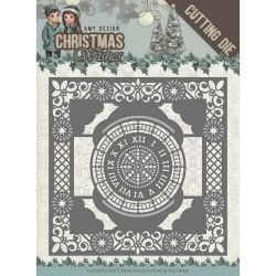 (ADD10148)Dies - Amy Design - Christmas Wishes - Twelve O'clock frame