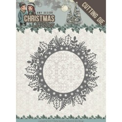 (ADD10149)Dies - Amy Design - Christmas Wishes - Holly Wreath
