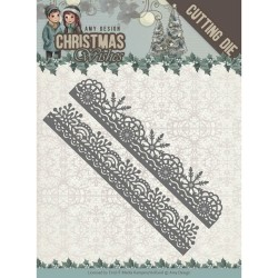 (ADD101150)Dies - Amy Design - Christmas Wishes - Snowflake Borders