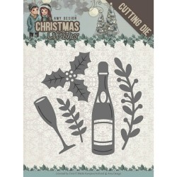 (ADD101152)Dies - Amy Design - Christmas Wishes - Champagne