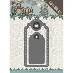 (ADD10153)Dies - Amy Design - Christmas Wishes - Wishing Labels
