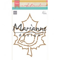 (PS8014)Marianne Design Craft stencil: Autumn leaves by Marleen