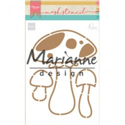 (PS8015)Marianne Design Craft stencil: Mushrooms by Marleen