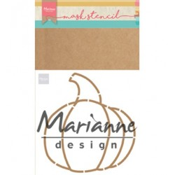 (PS8016)Marianne Design Craft stencil: Pumpkin by Marleen