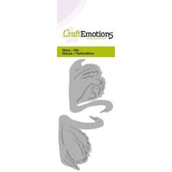 (115633/0237)CraftEmotions Die - 2 swans