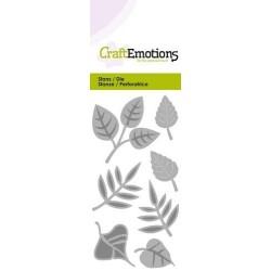(115633/0238)CraftEmotions Die - leaves mix