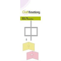(115633/0239)CraftEmotions Die - 2x pop-up base