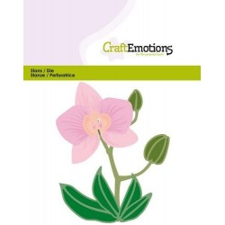 (115633/0428)CraftEmotions Die - Orchid flower 3D
